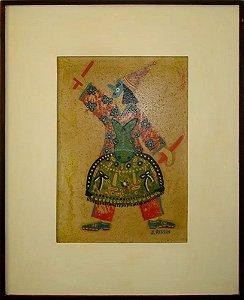 Jacob Kopel Rissin - Quadro, Arte em Pintura, Técnica Mista, Bumba Meu Boi
