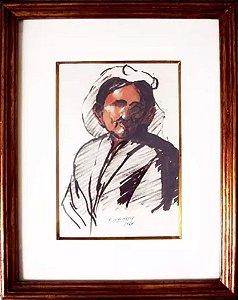 Edgar Oehlmeyer - Quadro, Arte em Pintura Original, Técnica Mista, de 1964