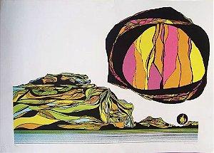 Elvio Becheroni - Quadro, Arte em Gravura, Litografia Original, Assinada e Numerada
