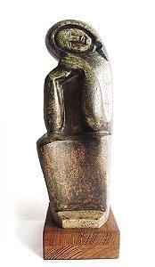 Juan C. Godiño - Escultura em Cerâmica, Assinada e Numerada, de 1983