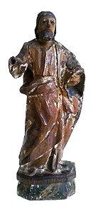 Arte Sacra, Antiga Escultura em Madeira Policromada, Imagem de São José