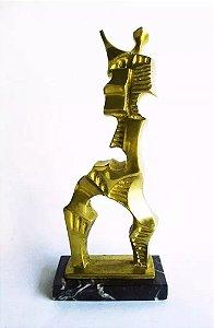 Roberto Gabriel Crivellé - Escultura em Bronze, Assinada e Numerada