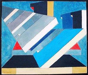Luiza Regina - Pintura Original, Óleo Sobre Eucatex, Assinada, de 1970
