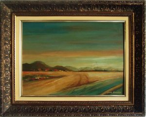 Dan Roméro - Quadro, Arte em Pintura, Óleo S/ Tela, Original, Assinada