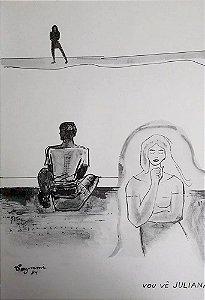 Caymmi - Portfólio com 11 Estampas de Pinturas e Desenhos, 1984
