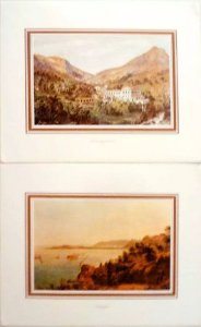 Louis Buvelot - Brasil Antigo, Portfólio c/ 8 Estampas de Pinturas Inéditas, 1981