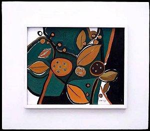 Sergio Jermann - Frutos, Quadro, Arte em Pintura, Acrílico Sobre Tela, 1969