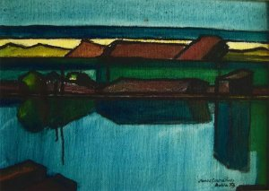Jorge Costa Pinto - Quadro, Arte em Pintura, Óleo S/ Tela, Marinha, Composição