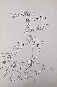 Aldemir Martins - Pasta Cultrix, Portfólio com 1 Desenho Original + 10 Estampas, 1970