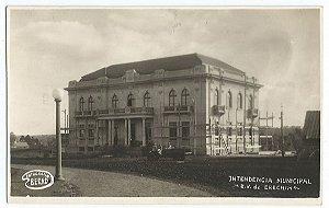 Rio Grande do Sul - Erechim, Intendência Municipal, Cartão Postal Fotográfico Antigo Original