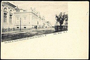 Rio Grande do Sul - Pelotas, Rua Felix da Cunha, Cartão Postal Tipográfico Antigo Original