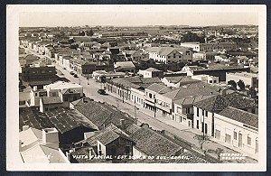 Rio Grande do Sul - Bagé - Vista Parcial, Cartão Postal Fotográfico Antigo Original