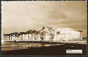 Brasília - Palácio da Alvorada - Cartão Postal Fotográfico Antigo Original