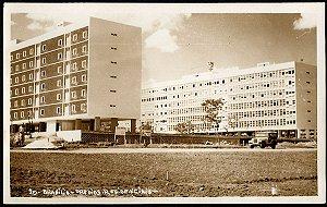 Brasília - Prédios Residenciais - Cartão Postal Fotográfico Antigo Original