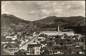 Santa Catarina - Jaraguá do Sul, Vista Parcial - Cartão Postal Fotográfico Antigo Original