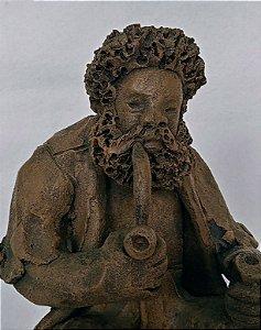 Zé do Carmo - Escultura Barro Cozido II, Preto Velho