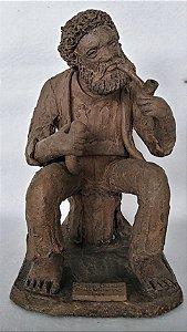 Zé do Carmo - Escultura de Barro, Preto Velho III