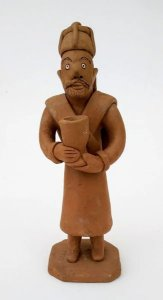 Escultura De Barro, Noemi Vitalino Filho - Lenach