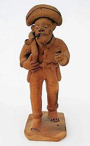 Amaro Rodrigues, Escultura de Barro, Figura de Sertanejo