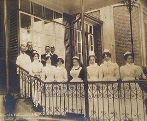 Fotografia de Guilherme Gaensly - Hospital De Isolamento de São Paulo, Atual Emilio Ribas