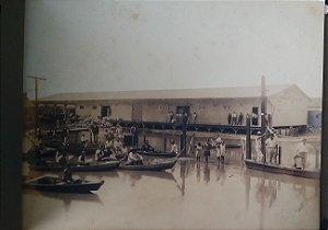 Álbum com 23 Fotografias Originais de 1928 - Obras no Centro de São Paulo