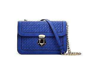 Bolsa Macadâmia - MCI11036-08K - Azul Klein