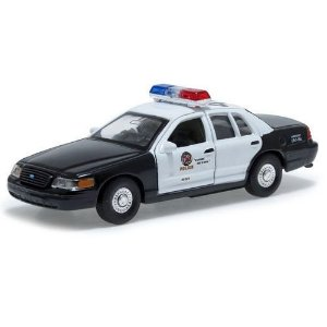 Carro Miniatura - Ford Crown Victoria 1999 Police - 1:39 - Welly - Em Metal