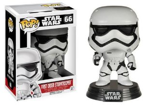 Boneco Miniatura - FIRST ORDER STORMTROOPER - Marvel - POP - Funko