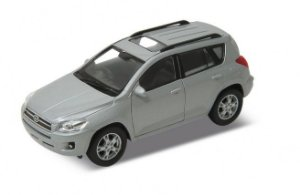 Carro Miniatura - Toyota RAV 4 - 1:39 - Welly - Em Metal