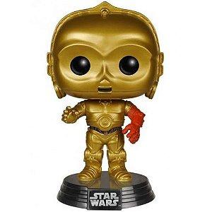 Boneco Miniatura - C-3PO STAR WARS 7 (POP) - Funko