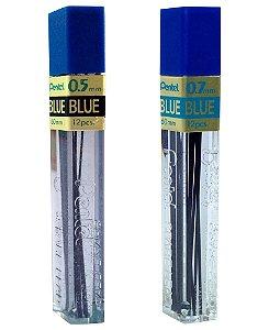 Grafite Colorido Azul Pentel