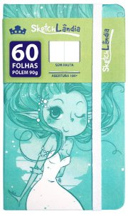 Sketchbook Rabiscário Sereia