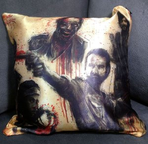 Almofada Decorativa 30x30cm - The Walking Dead