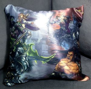 Almofada Decorativa 30x30cm - World of Warcraft