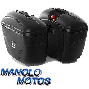 Bauleto Givi MonoKey Lateral E21N  (21 Litros) (Par)