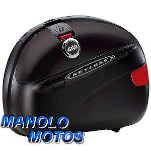 Bauleto Givi MonoKey Lateral E41 KeyLess Black  (41 Litros) (PAR)