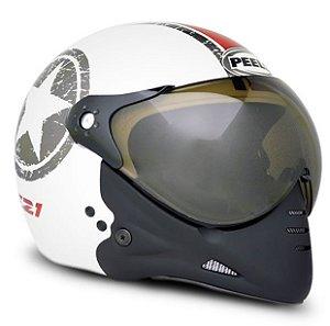 Capacete Peels F21 Navy (Branco)