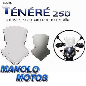 Bolha Pará-Brisa Motovisor  (Tenéré 250)  Pra uso Com protetor de mão