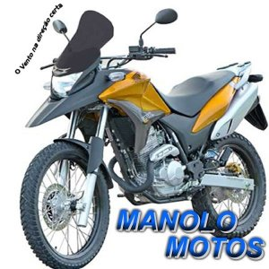 Bolha Pará-Brisa Motovisor  (XRE 300) até 2015