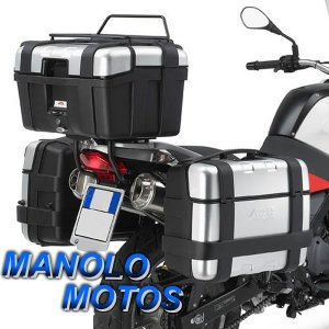 Suporte Lateral Givi PL188 (BMW F650/ G650GS) 2000 a 2014