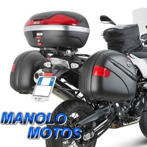 Suporte Lateral Givi PL690 (BMW F650 GS  F800 GS) 2008 a 2015