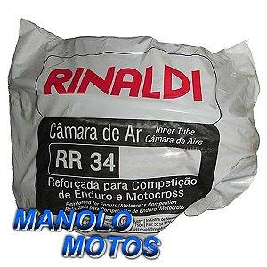 Câmara de ar Rinaldi RR 34 Reforçada para Moto Cross 5mm (400-19)
