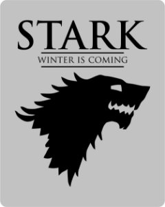 Camiseta Game Of Thrones - Stark