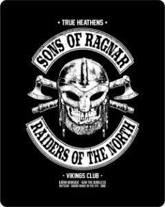 Camiseta Vikings - Sons Of Ragnar