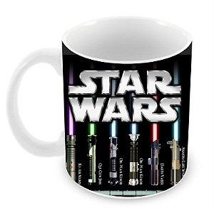 Caneca Star Wars - Sabre de Luz