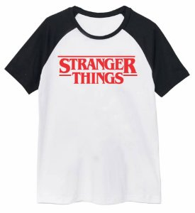 Camiseta Raglan Stranger Things