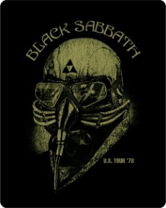 Camiseta Black Sabbath U.S. Tour '78