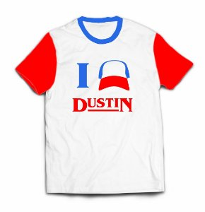 Camiseta Stranger Things - Dustin