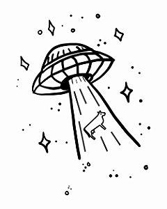 Camiseta UFO