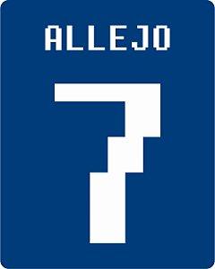 Camiseta Allejo Azul